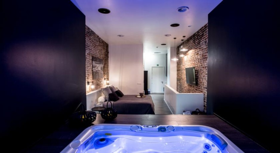 Day room Hotel Brussels : Chambre Jacuzzi et Sauna | Hotel for the day